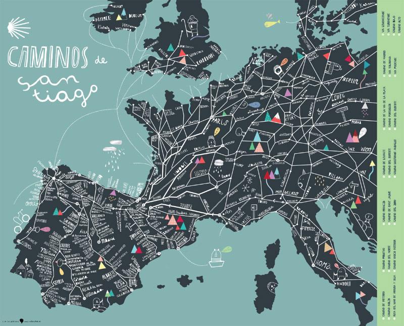 Cinta Arribas Mapas del mundo