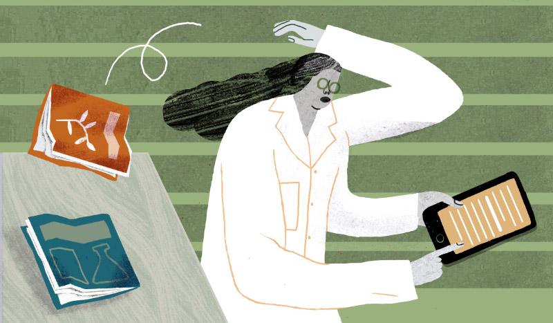 Cinta Arribas: Los artículos científicos toman un atajo 'on line'