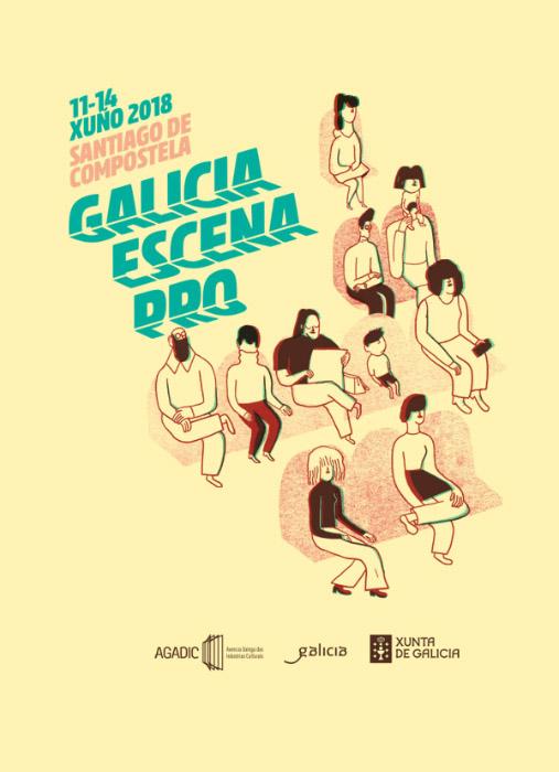 Cartel · Galicia Escena Pro 2018
