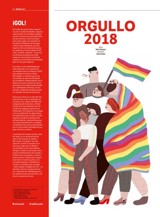 Cinta Arribas Orgullo gay