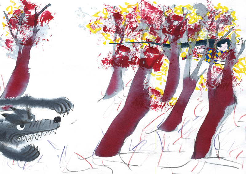 Jokin Mitxelena Zapatos Rojos