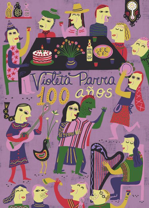 Violeta Parra, 100 años