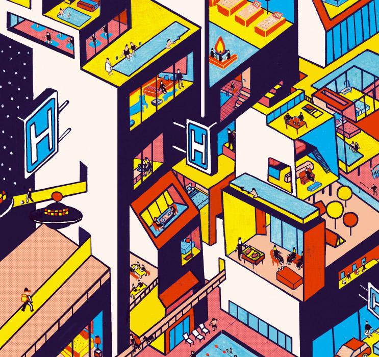 Endender el hotel del futuro · El País (suplemento  El Viajero)