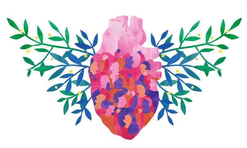 Nuestros corazones vibran por los cambios · Hivos Guatemala