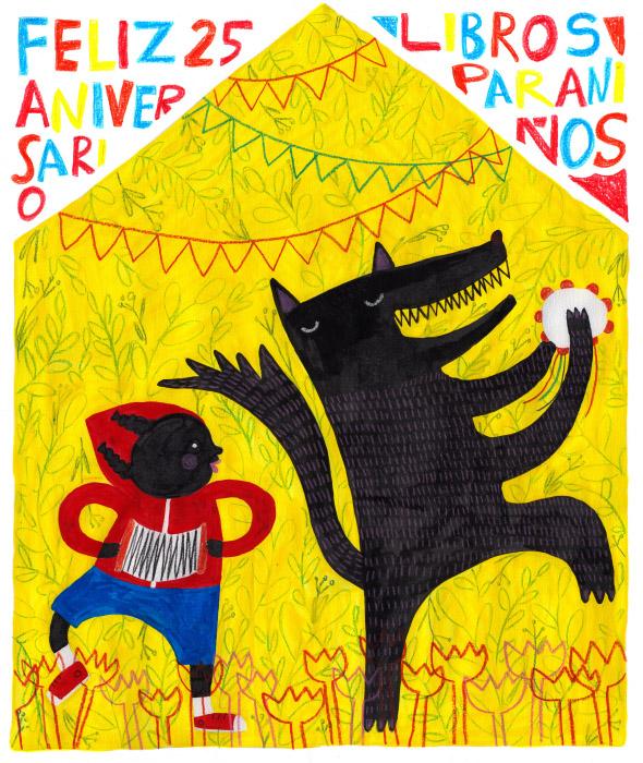 Cartel 25 Aniversario · Libros para niños