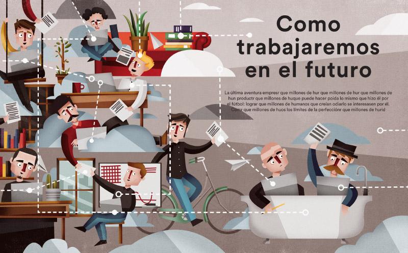 Como trabajaremos en el futuro · ICO El Pais