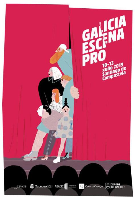 Cartel · Galicia Escena Pro 2019