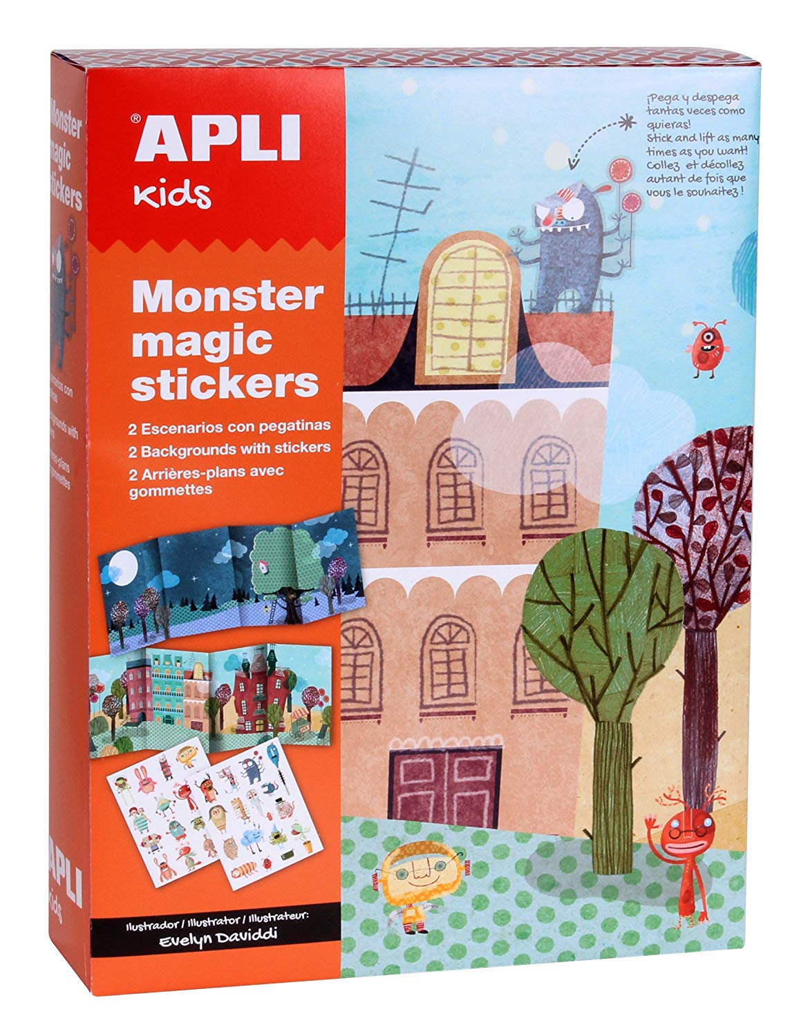 Stickers Monstruos · APLI Kids - Duplicate
