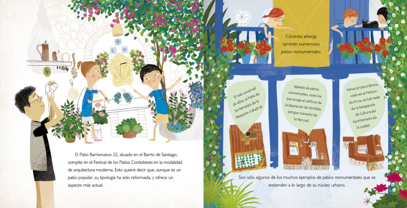 Jacobo Muñiz Los patios de Córdoba
