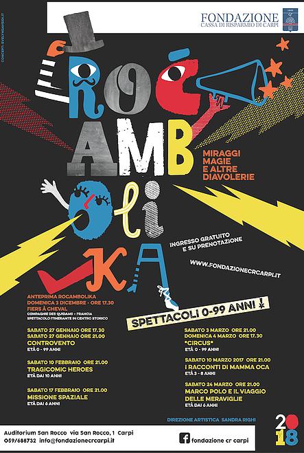 Rocambolika Theatre Festival · Fondazione Cassa di Risparmio di Carpi