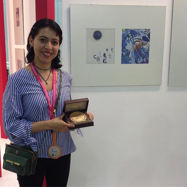 Premio Sharjah Children's Reading Festival Esteli Meza