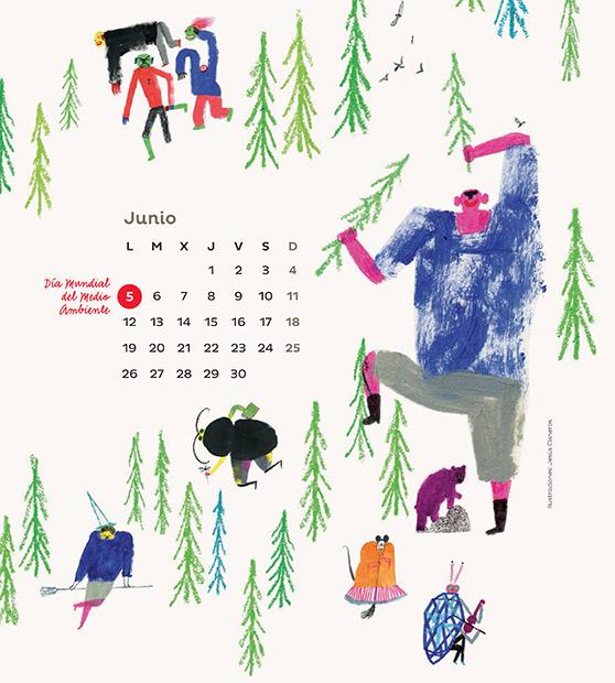 Jesús Cisneros Calendario Loqueleo