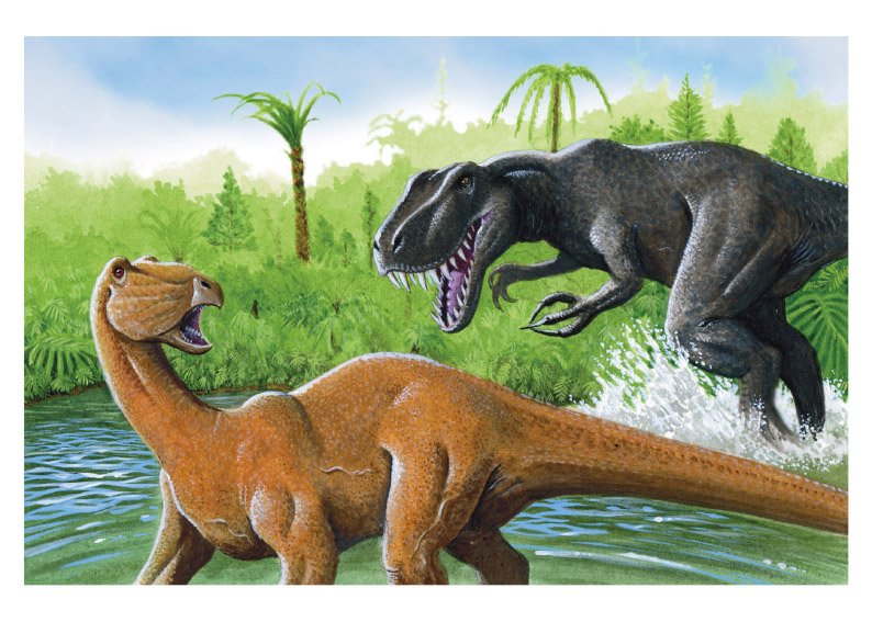 Carlos Velázquez Los dinosaurios