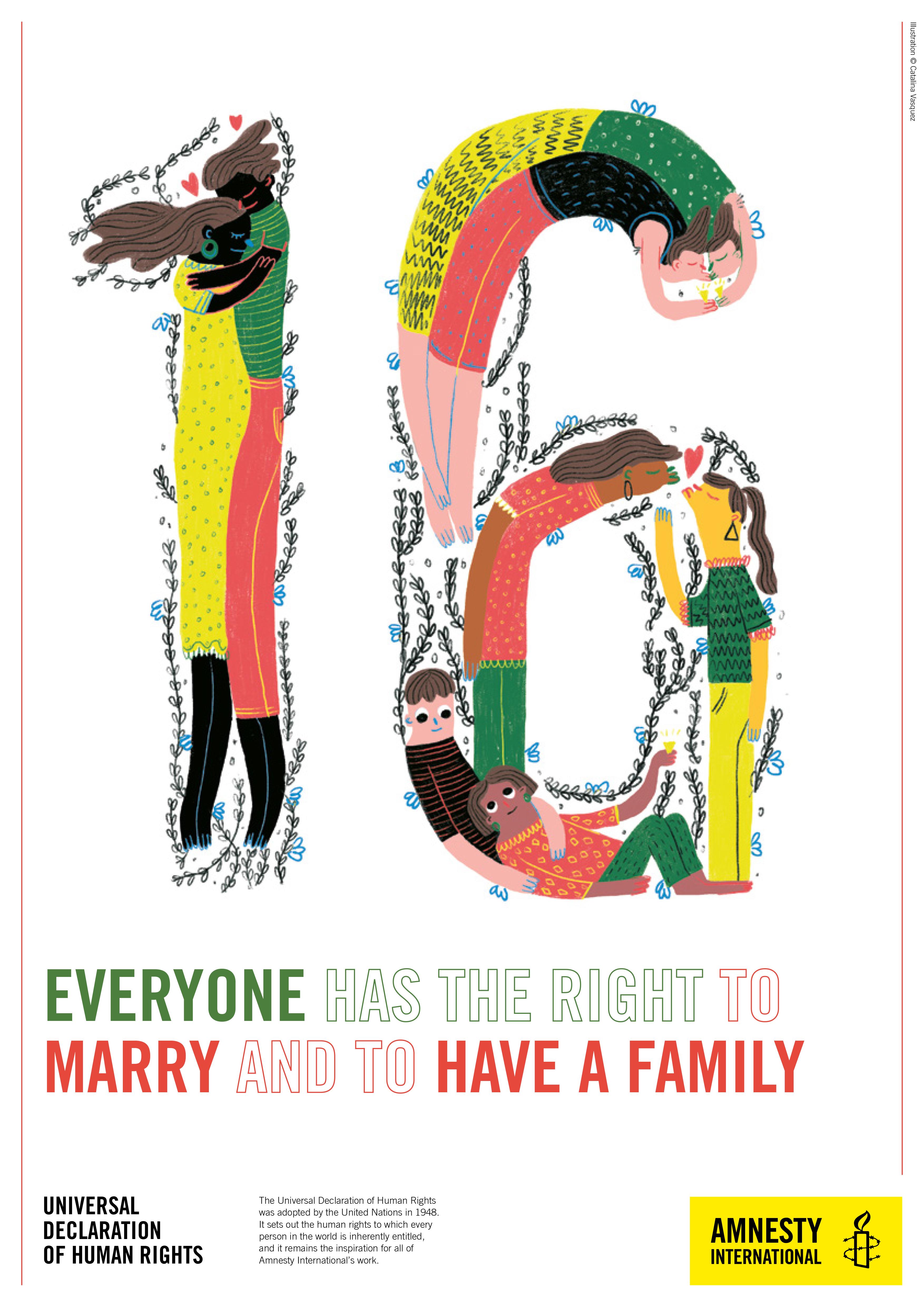 70 Aniversario de la Declaración de los Derechos Humanos · Amnistía Internacional