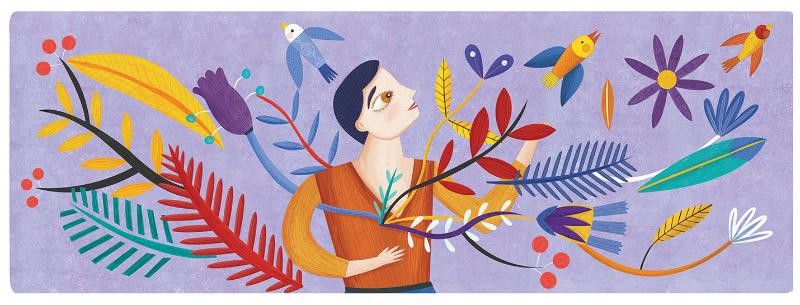 Estelí Meza Doodle Día de la Mujer