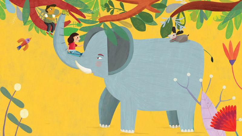 Estelí Meza Elefante, jirafa o cigüeña
