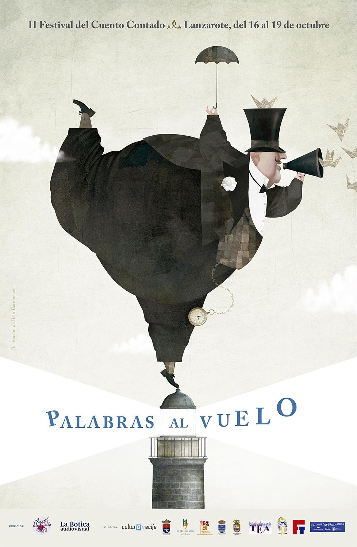 Palabras al vuelo · II Festival del Cuento Contado de Lanzarote