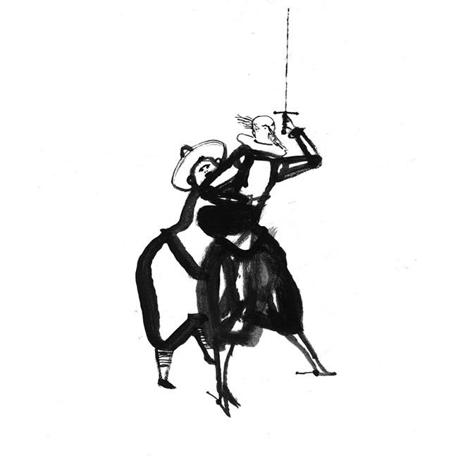 Jesús Cisneros El viaje de Don Quijote