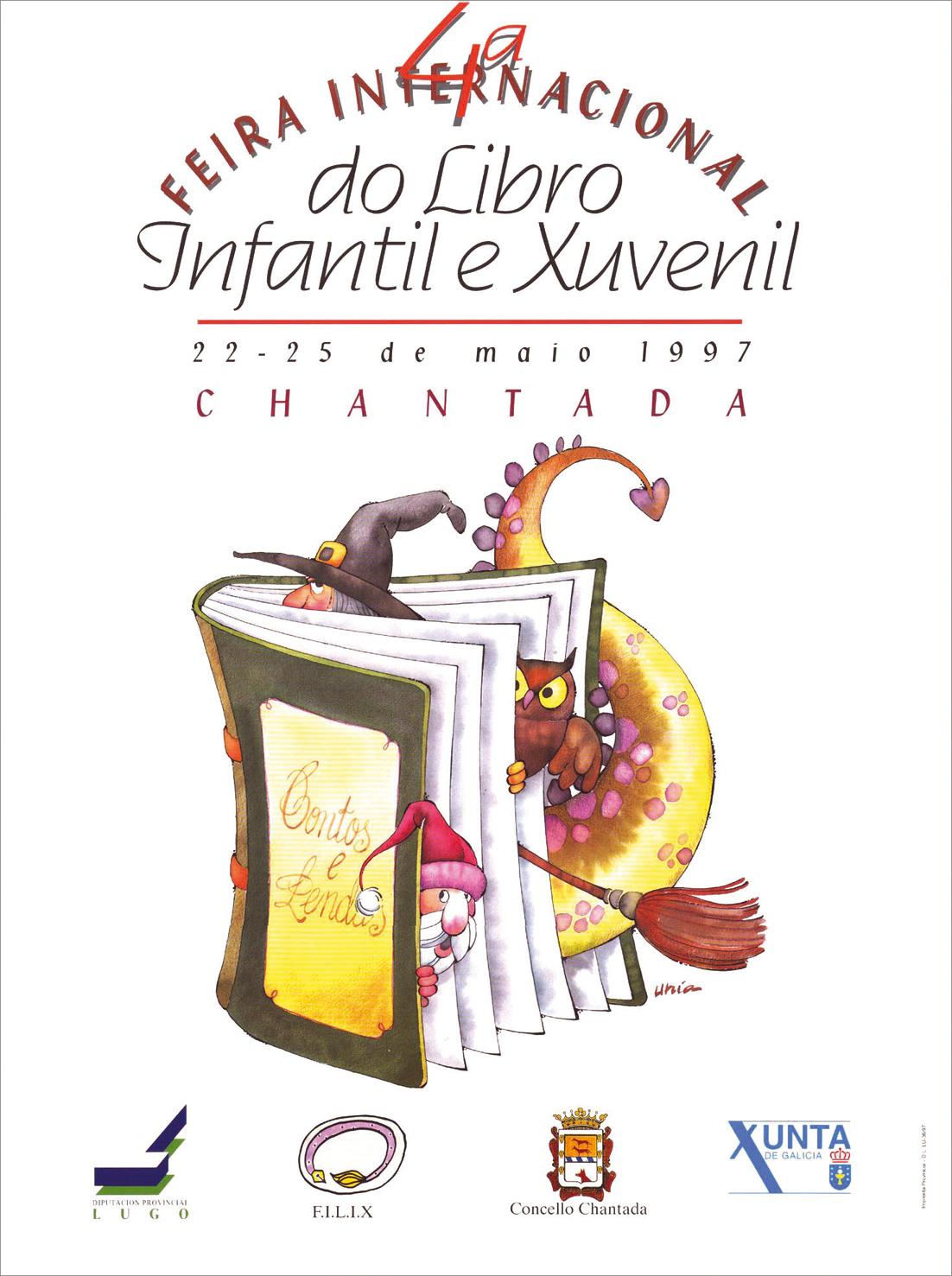 Cartel Feira Internacional do Libro Infantil e Xuvenil