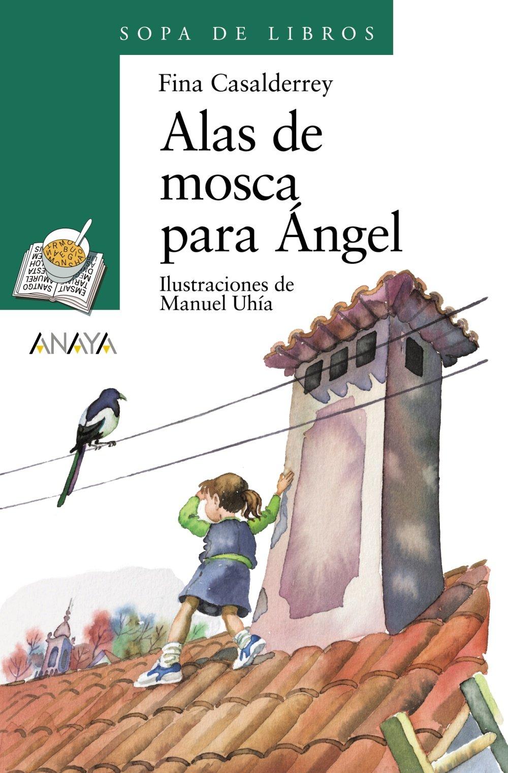 Alas de moscas para Ángel · Anaya