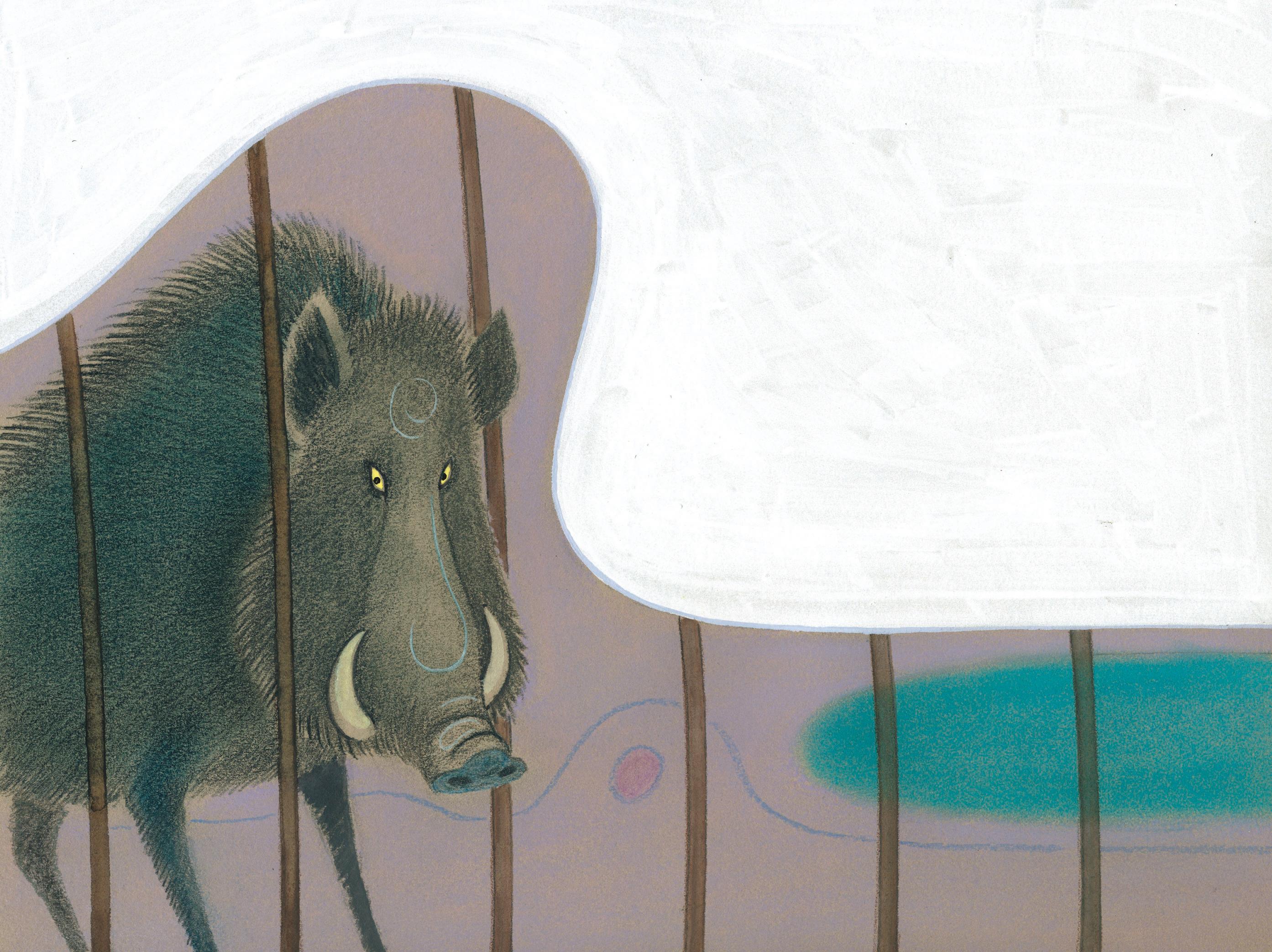 Manuel Uhía Edelvives Ilda, o lobo o corzo e o xabarín