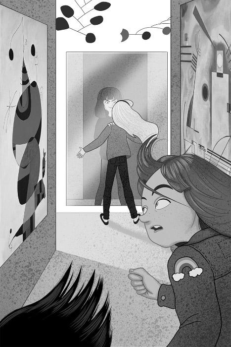 María Simavilla Minerva Watson y el extraño caso del fantasma que no era