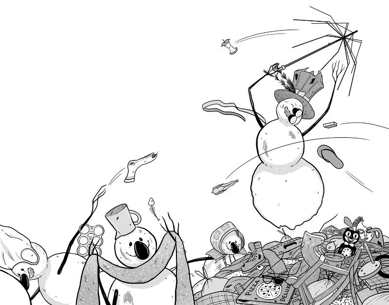 María Simavilla La batalla de los muñecos de nieve