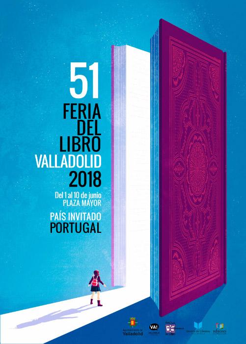 Cartel · Feria del Libro de Valladolid