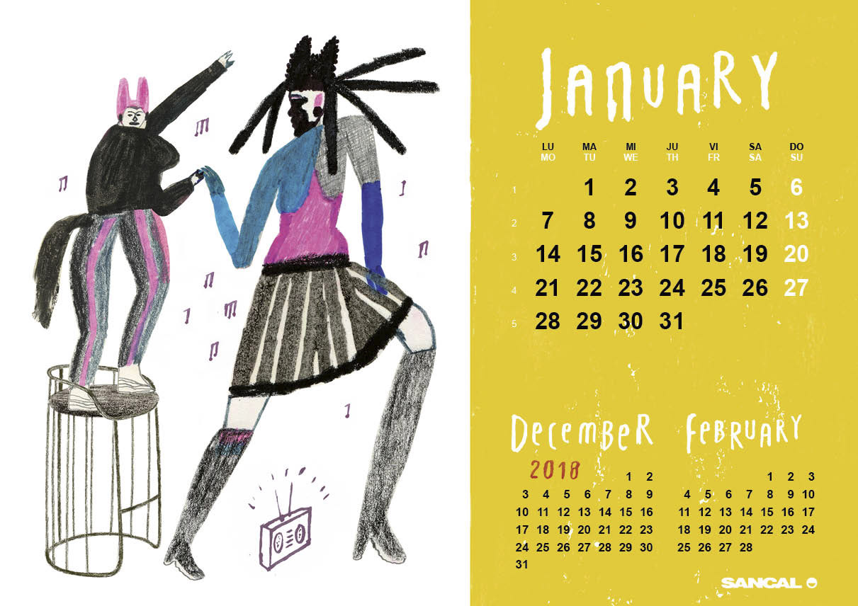 Jesus Cisneros Calendario SANCAL