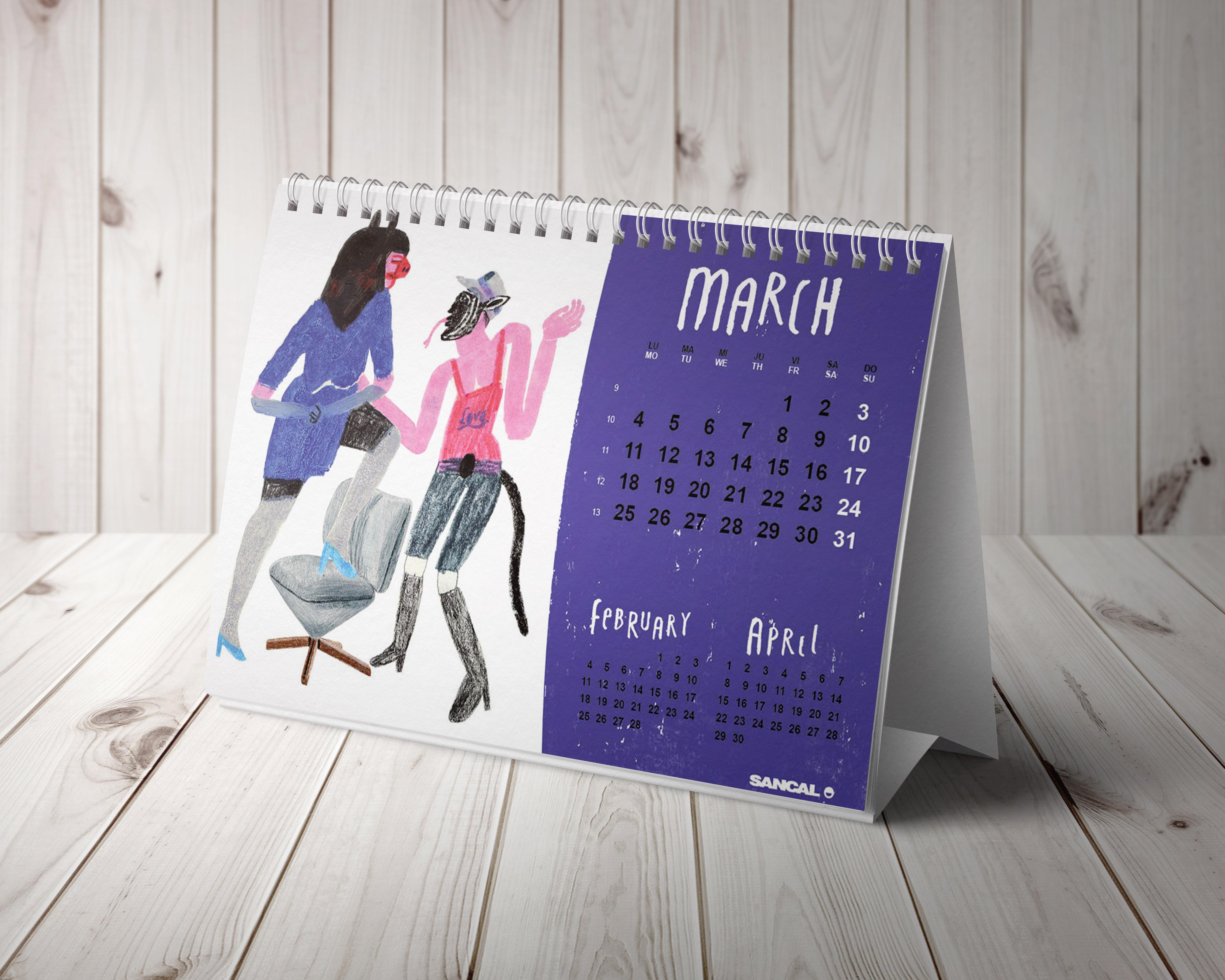 Calendario 2019·Sancal