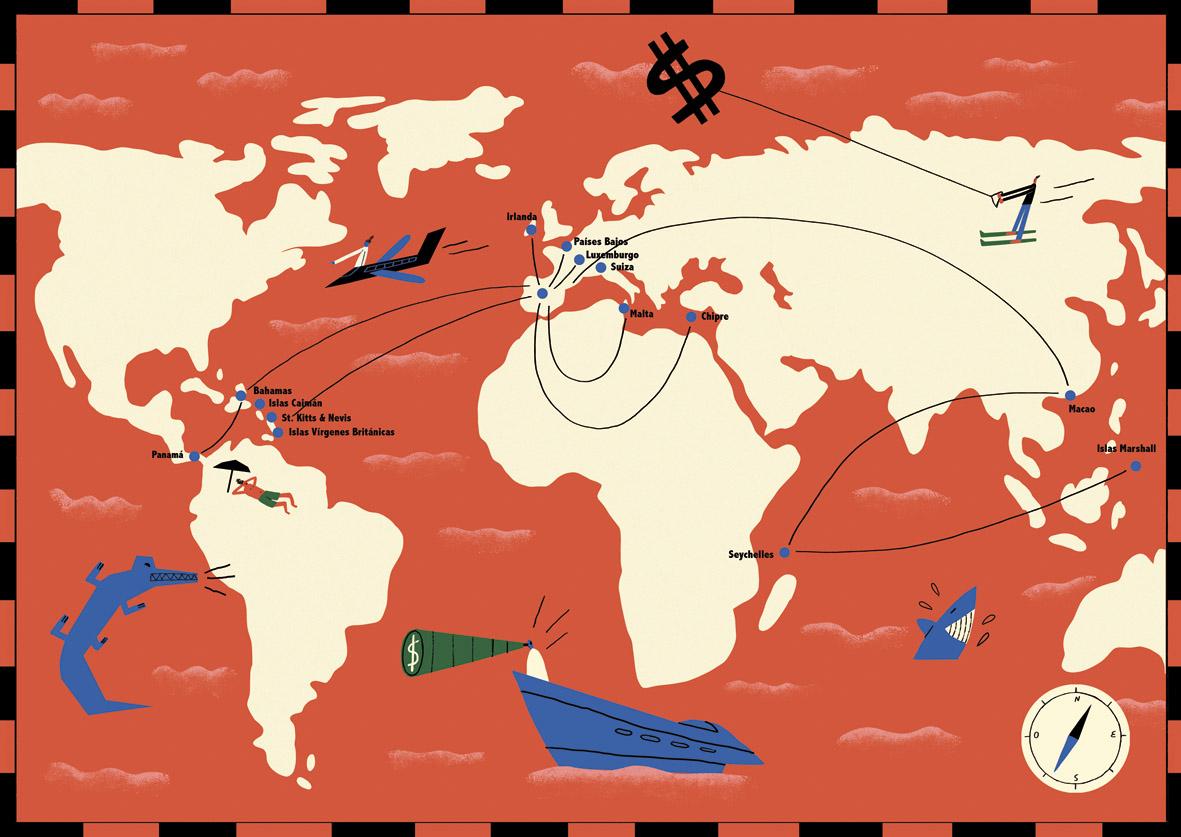 La ruta del dinero · Instituto 25M Demogracia