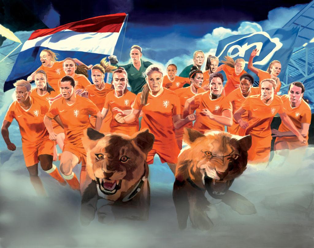 David de las Heras Selección holandesa de fubtol