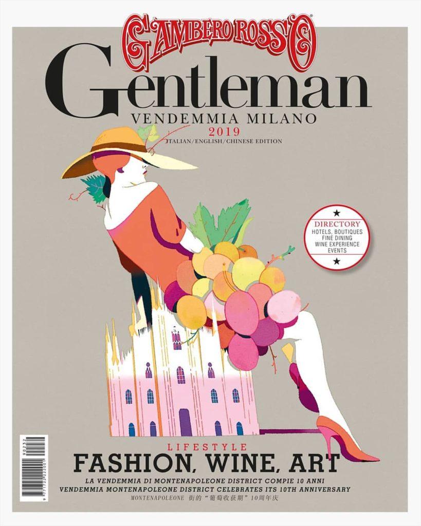 Gianluca Foli Gentleman-GamberoRosso Fashion Wine Art