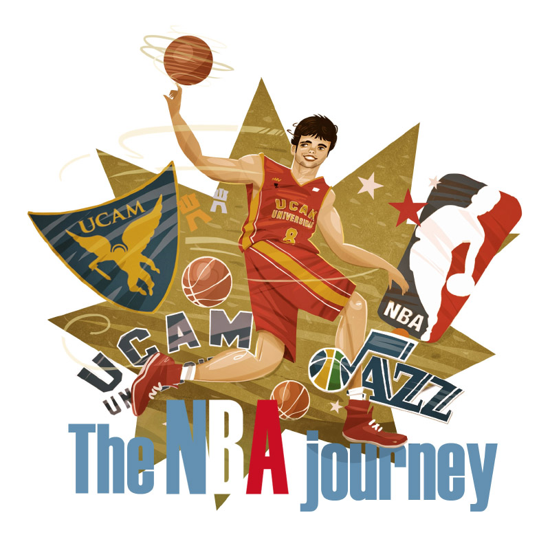 The NBA journey · UCAM