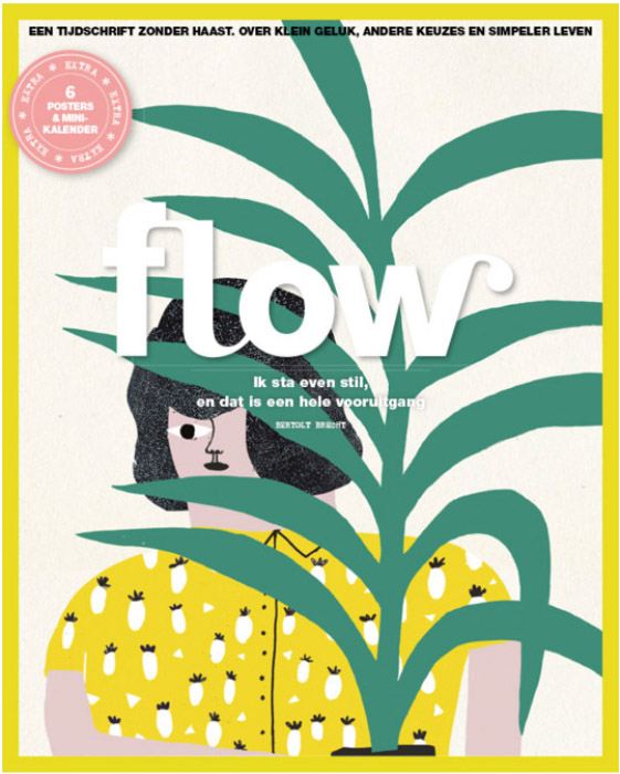 Cinta Arribas Revista Flow
