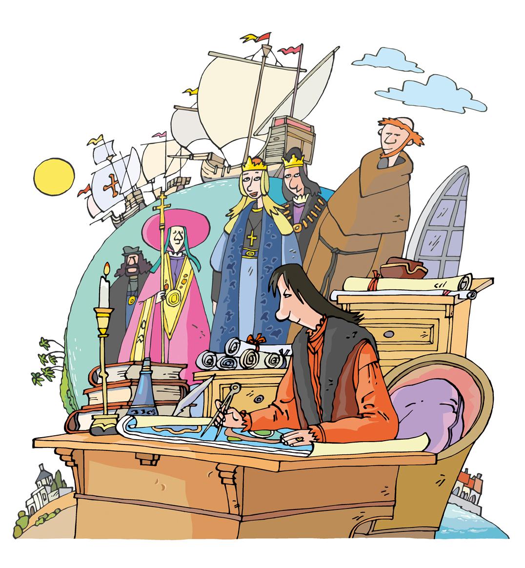 Felipe l Salan Colón, un navegante en los mares de Castilla