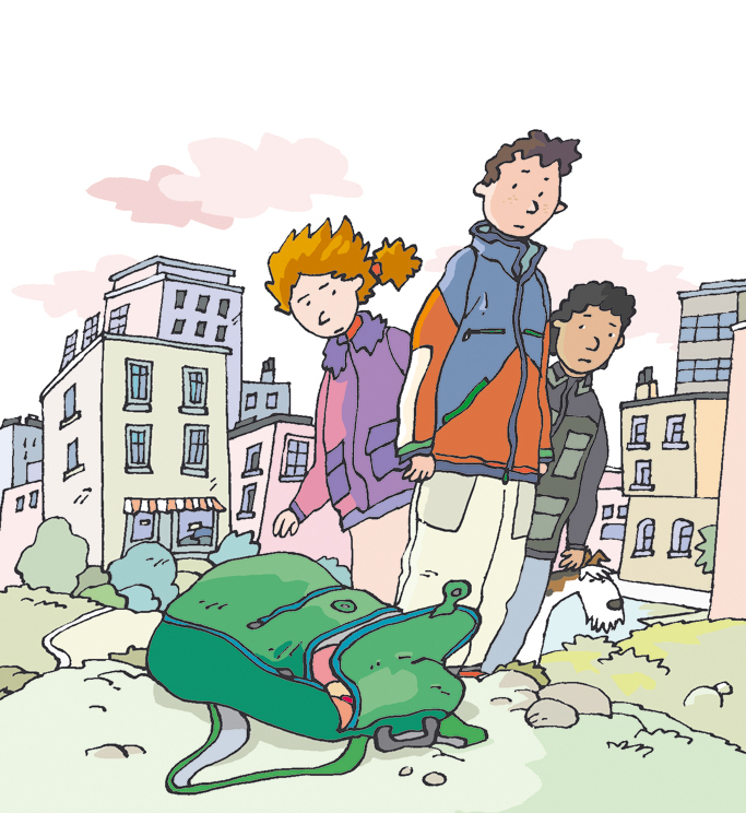 Genaro y el misterio de la mochila verde · Duende verde