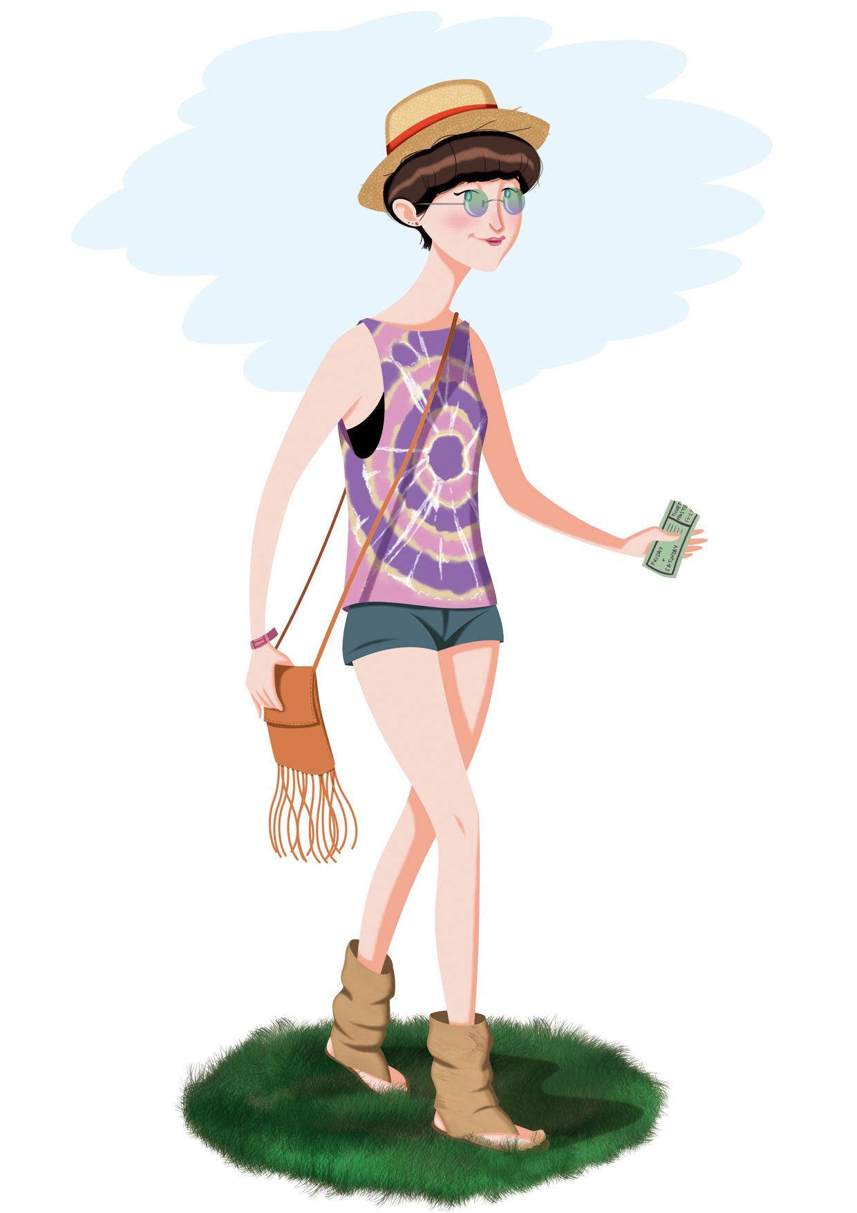 María Simavilla Turistas