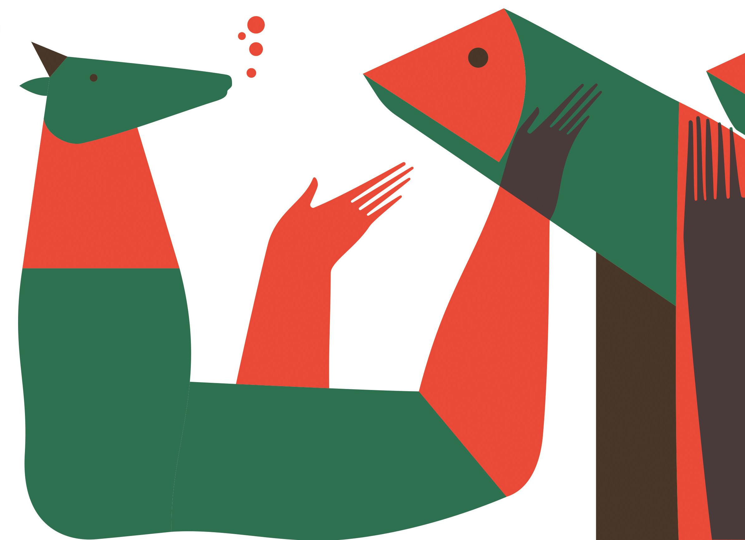 Juárez Casanova Dialogo entre besugos y cabras