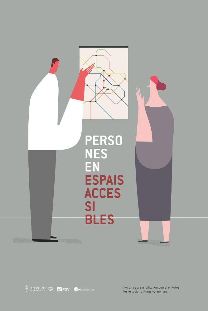 Juárez Casanova Persones en espais accesibles