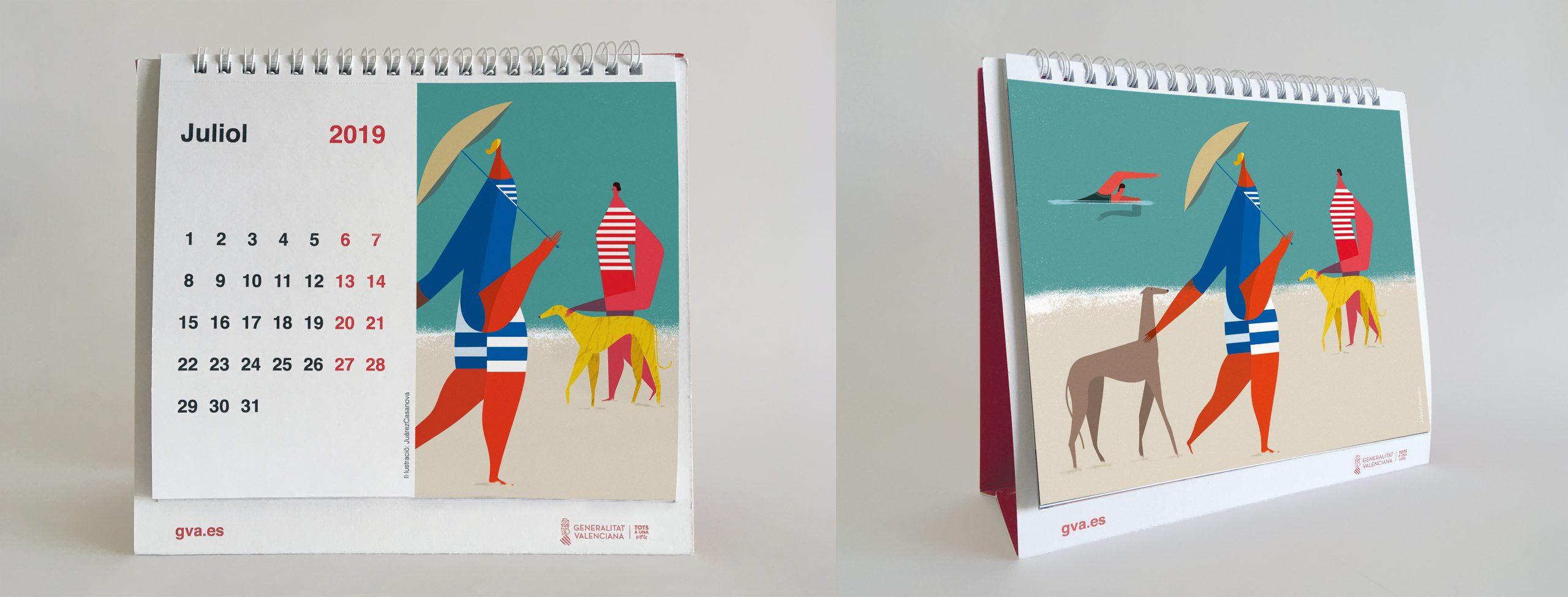 Juárez casanova Calendario