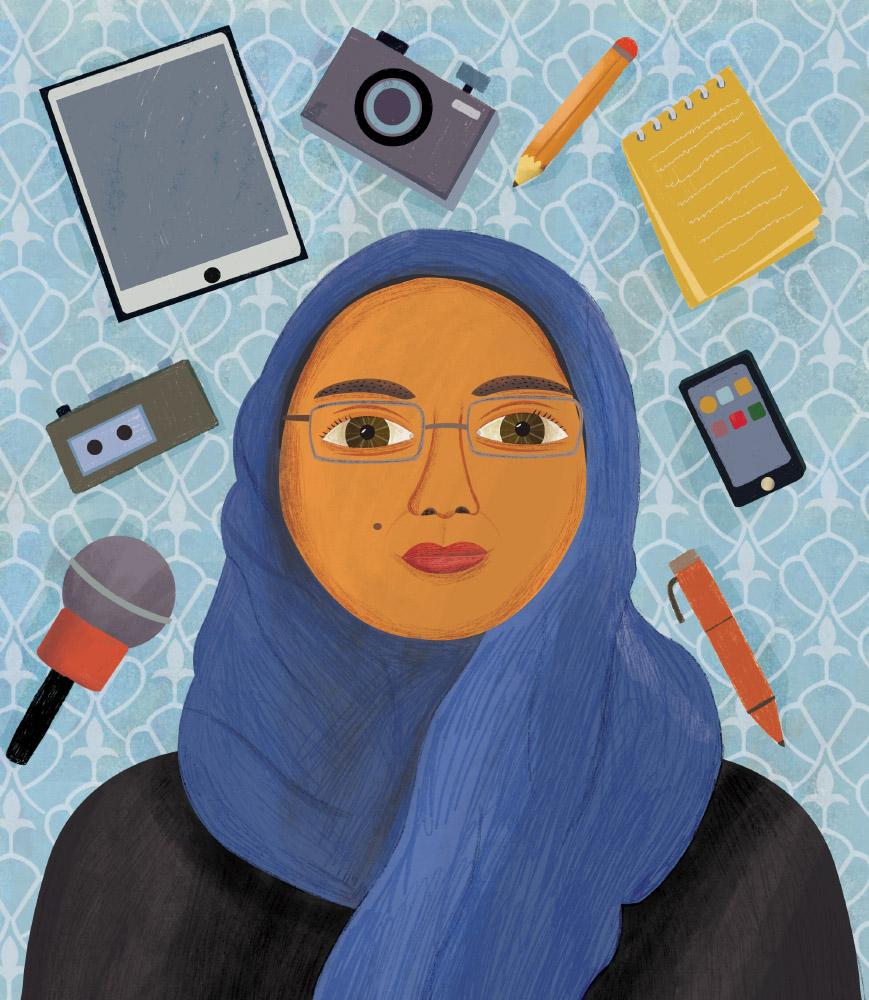 Estelí Meza Mujeres del Medio Oriente