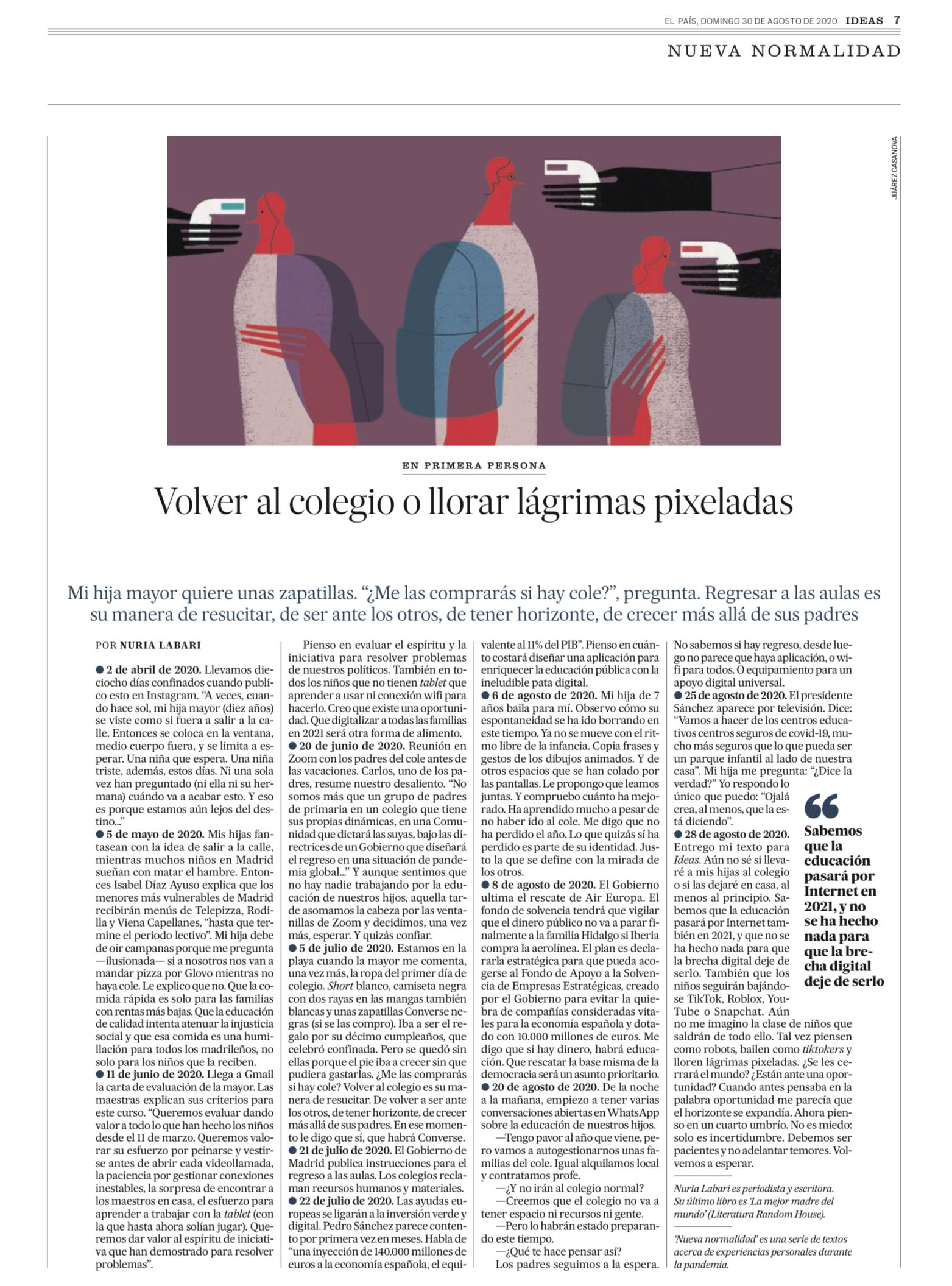 Juarez Casanova El País