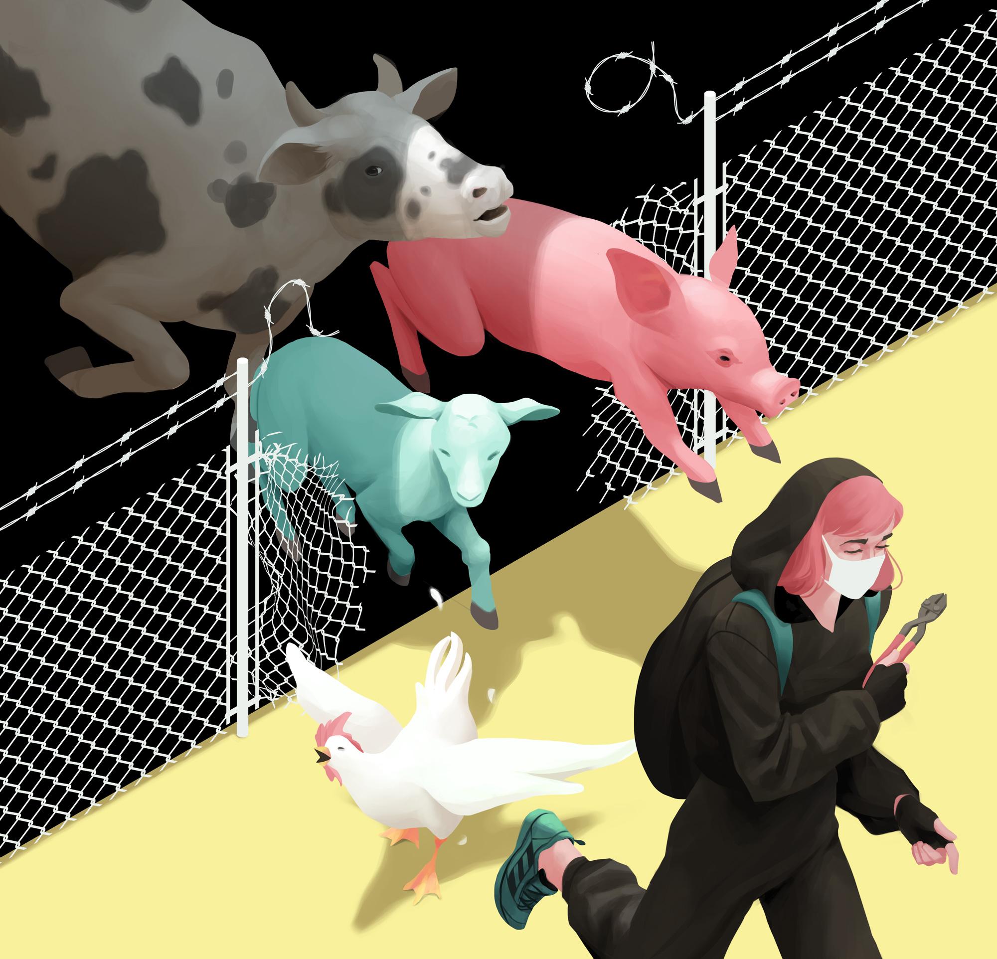 Animal Liberation · Un futuro ilustrado