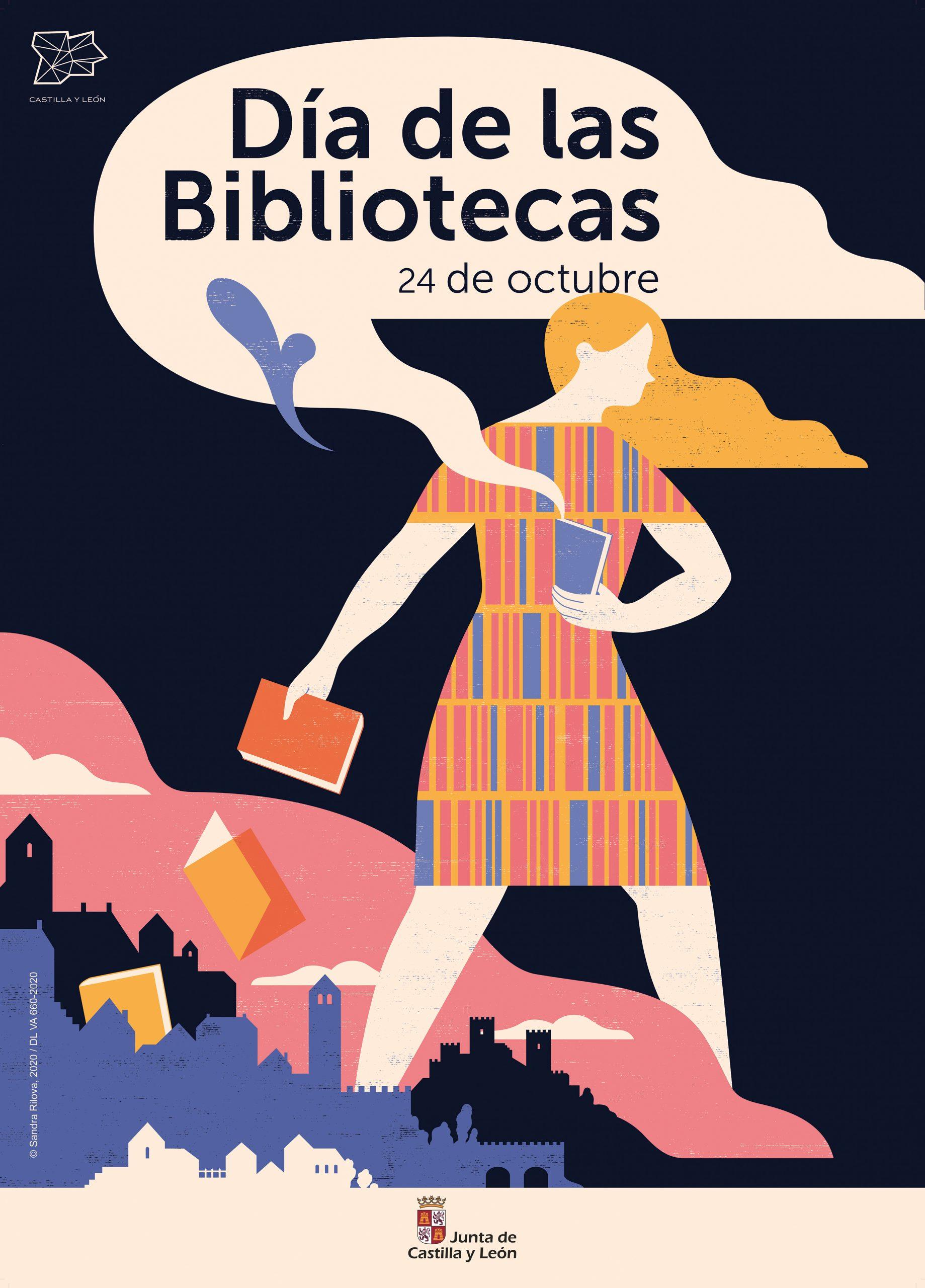 Sandra Rilova Día de las Bibliotecas