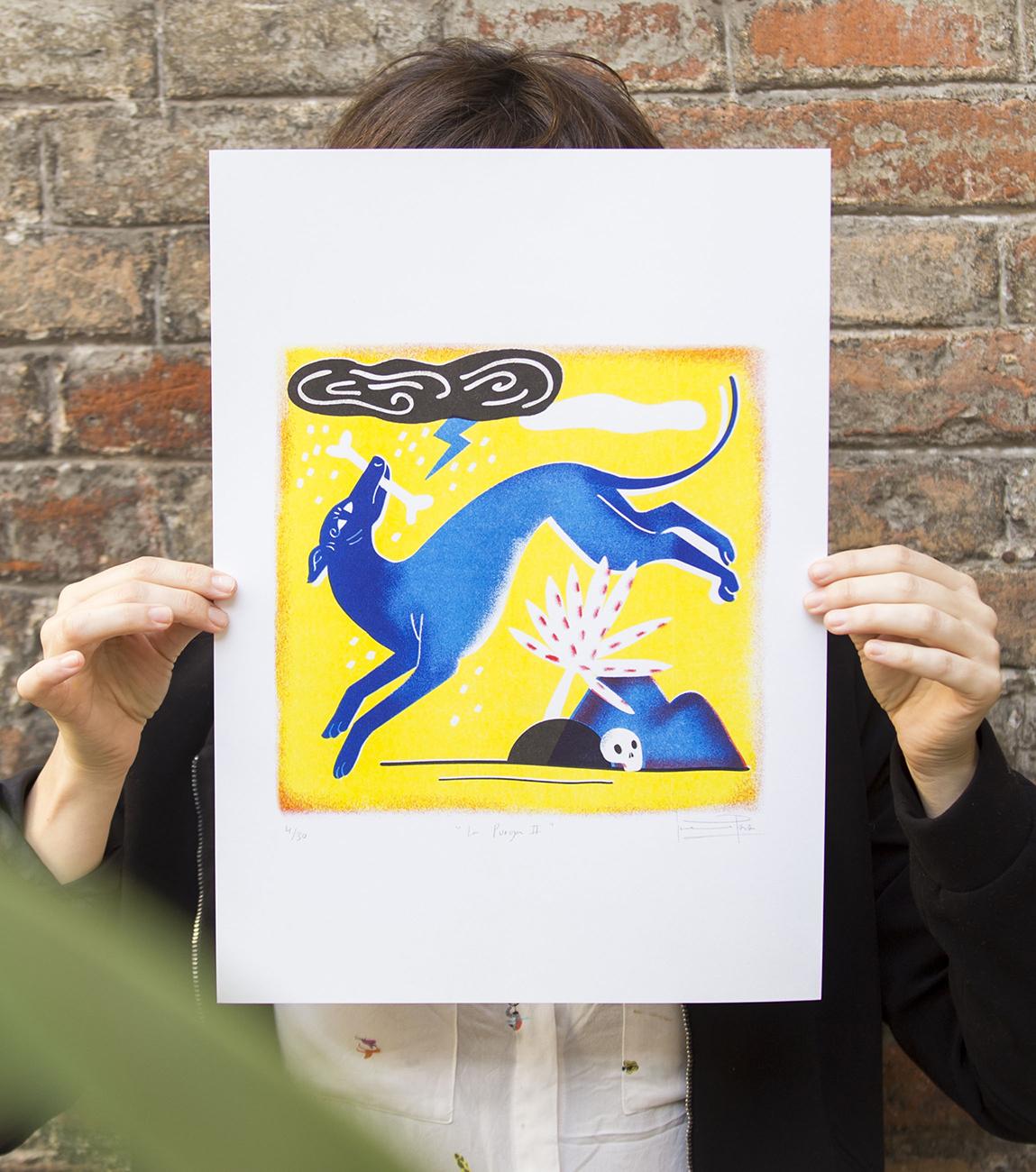 Purga · Print