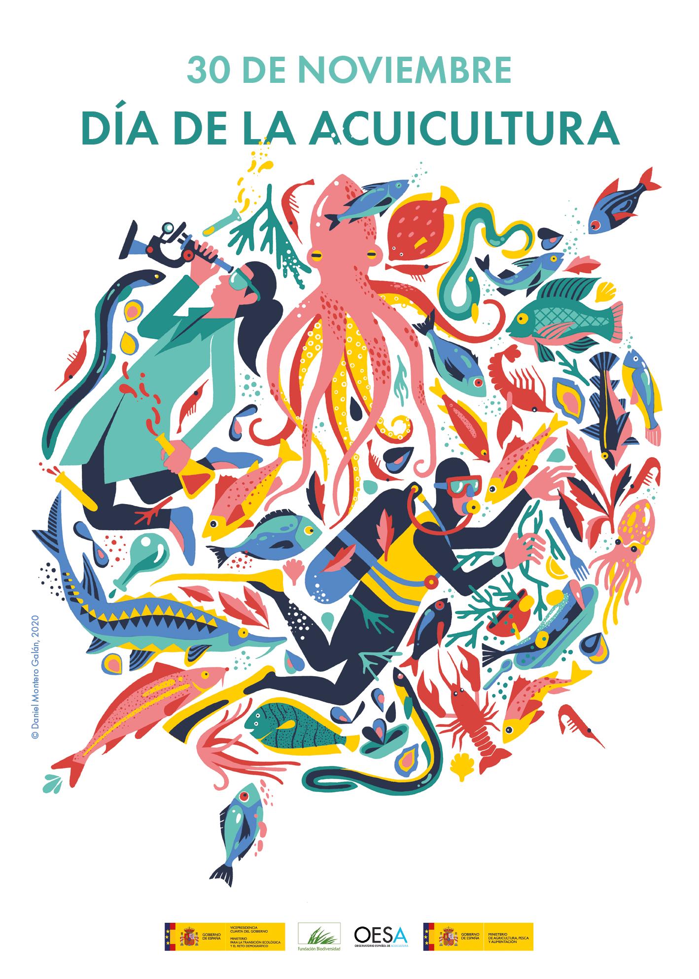 Día de la Acuicultura · Fundación Biodiversidad